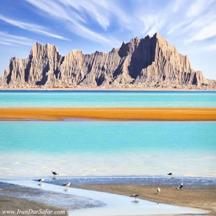 کوههای مینیاتوری چابهار - کوههای مریخی در چابهار استان سیستان و بلوچستان