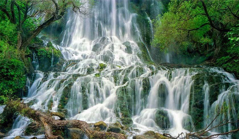 آبشار شوی - آبشار تله زنگ - آبشارهای ایران