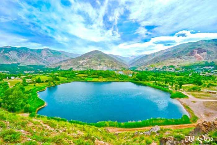دریاچه اوان - دریاچه ایوان - دریاچه های ایران - ایران در سفر