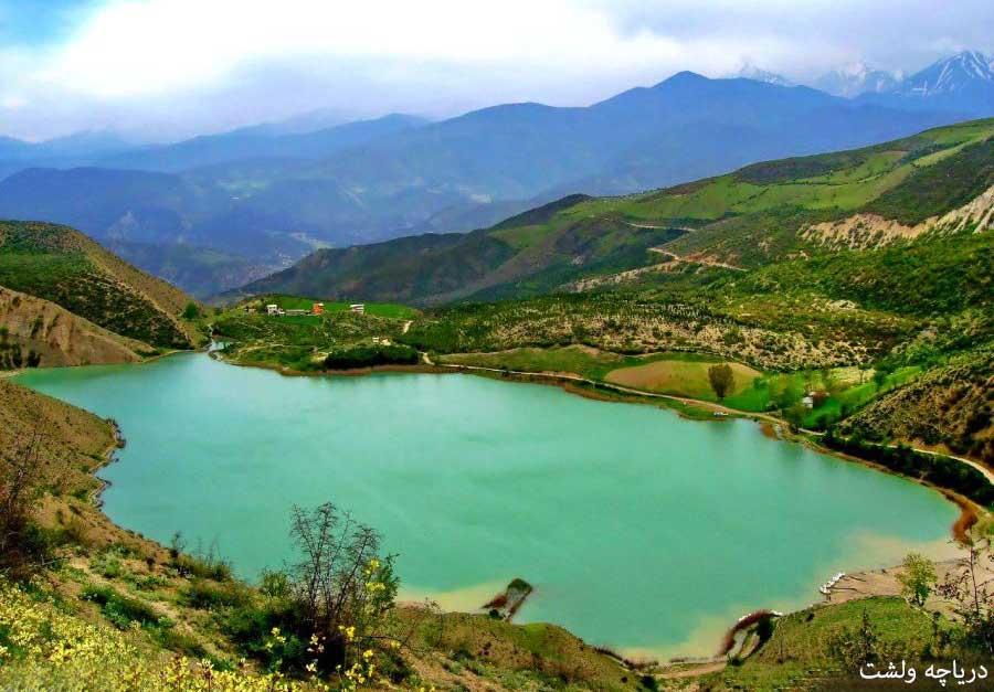 دریاچه ولشت در کلاردشت مازندران - دریاچه های ایران - وب سایت گردشگری ایران در سفر