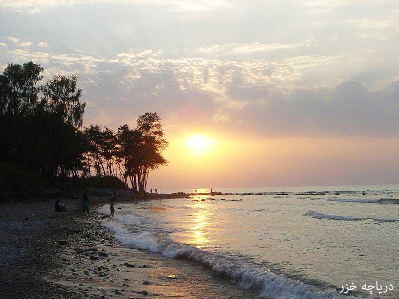 دریاچه خزر - دریاچه کاسپین - دریاچه های ایران - ایران در سفر