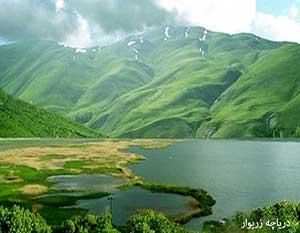 دریاچه زریوار - دریاچه زریبار - دریاچه های ایران ایران در سفر