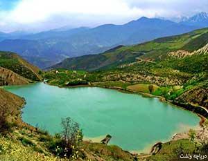 دریاچه ولشت کلاردشت مازندران - دریاچه های ایران - ایران در سفر