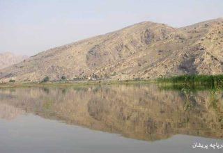 دریاچه پریشان در استان فارس - دریاچه های ایران -ایران در سفر
