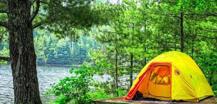 نکاتی درباره چادر زدن در جنگل - ایران در سفر - کمپینگ در طبیعت - ایرانگرد