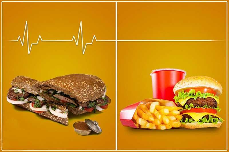 راهنمای مصرف غذا در طول سفر