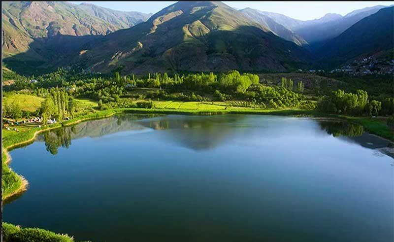 دریاچه اوان یا دریاچه ایوان - دریاچه های ایران - ایران در سفر