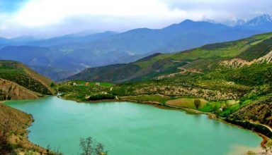 دریاچه ولشت در کلاردشت مازندران - دریاچه های ایران - ایران در سفر