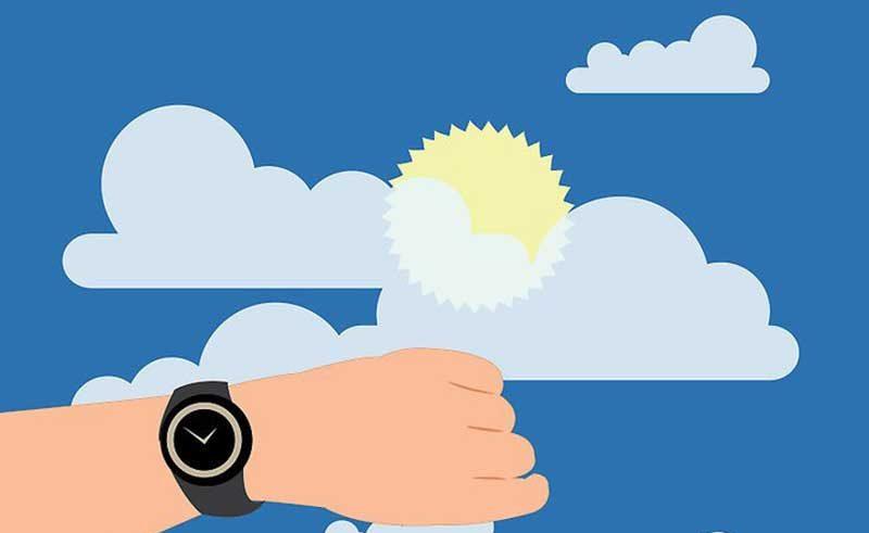 جهت یابی با ساعت مچی عقربه دار به کمک خورشید آموزش تکنیکهای جهت یابی در طبیعت - ایران در سفر