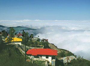 روستای ابر فیلبند - سرزمین ابرها - جنگل ابر فیلبند - ایران در سفر